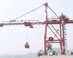 朝鲜南浦港码头